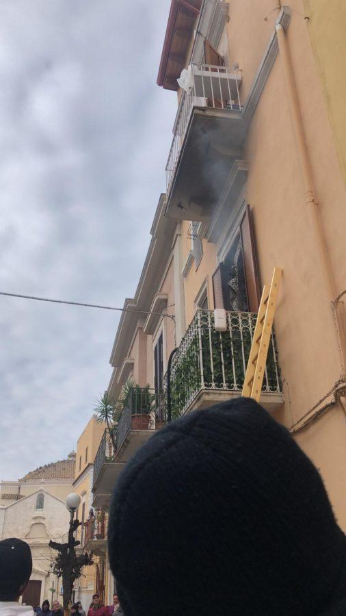 incendio palo